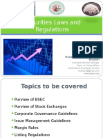 Presentation on Securities Laws and Regulations for FinExcel-Revised
