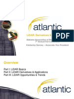 LiDAR - Derivatives and Applications