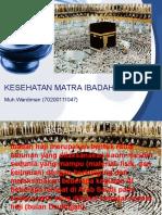 Diman-kesehatan Matra Ibadah Haji
