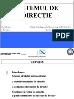 Sistemul de Directie