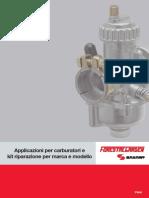 Applicazioni Per Carburatori e Kit Riparazione Per Marca e Modello