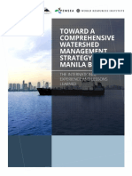 Toward a Comprehensive Watershed Management Strategy for Manila Bay