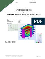 L'EUROCODE 8 et ROBOT STRUCTURAL ANALYSIS