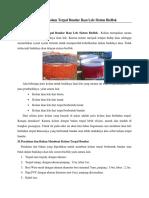 Membuat Kolam Terpal Bundar Ikan Lele Sistem Bioflok