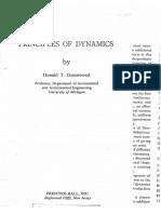 Greenwood D.T.-principles of Dynamics-Prentice Hall(1987)