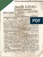 Vasárnapi Újság 1848 Április 2