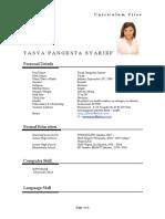 CV Tasya