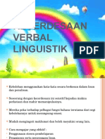 Kecerdesaan Verbal Linguistik