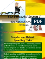 The Financial System I