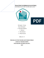 Laporan Praktikum Hidrolik Kontrol MOTOR AKSI GANDA