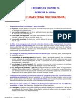 Marketing Internacional em Francês