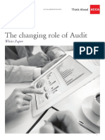 The Changing Role of Audit Uae Perspective