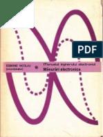 Manualul Inginerului Electronist - Masurari Electronice