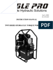 TWP-2AF Torque Wrench Pump Manual REV B.