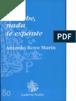 ROYO MARIN, A-Nada Te Turbe, Nada Te Espante