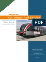 Bengaluru Commuter Rail - A Praja Report