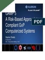 Summary of  ISPE GAMP