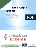 About Childhood Atopic Eczema by Dr. Shivani, MBSS, MD