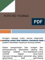 Rontgen Thorax