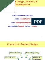 POM 02.0 Product Design, Analysis _ Development
