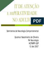 TDAH Adulto Guiomar Oliveira 2007dez