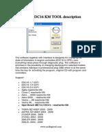 Opel Edc16 Km Tool Description