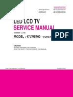 LG 47LW5700 Chassis LJ12C