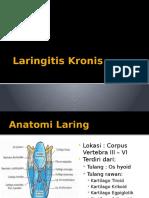 Laringitis Kronis - Arina