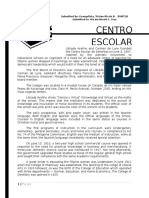 A History of Centro Escolar University
