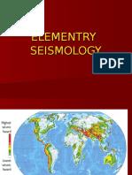elementry seiesmology