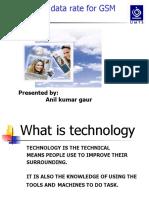 PPT Presentation of EDGE Technology by ANIL KUMAR GAUR