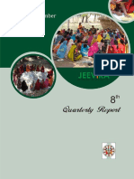 8th Quarterly Progress Report of JEEViKA