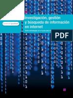 Estrategias para la #investigación, #gestión y #búsqueda de #información en #Internet