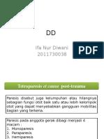 DD Tetraparesis Et Causa Trauma