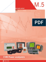 Circutor CVM Power Analyzers Catalog