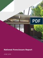 National Foreclosure Report June 2015
