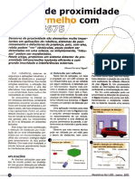 Sensor de Proximidade Infravermelho Com PIC 12F675 - Mecatronica Facil No. 20
