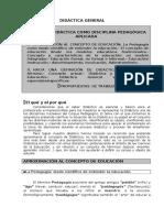Didáctica General- Tema 1