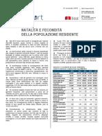 2014 - Natalità e Fecondità - 27_nov_2015 - Testo Integrale