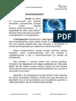 Serie Autoconhecimento Texto 2 Aurum