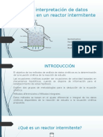Análisis e Interpretación de Datos en Un Reactor [Autoguardado]