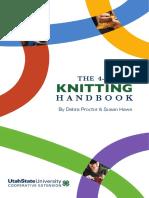The 4-H Knitting Handbook