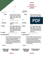 Letter Order MDF