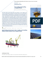 Safe Working Environment When Loading and Installing Offshore Wind Turbines From a Large JU Vessel - Wiki Cleantech