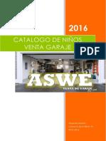 Catalogo de Venta Garaje- Niños