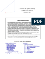 Elemental Analysis - Journal of Organic Chemistry