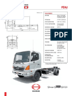Ficha Tecnica Camion HINO 500 FC4J