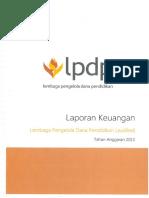 Laporan Keuangan Lpdp Audited 2014 Sak
