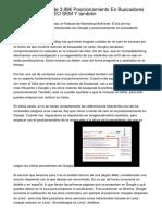 Creador Web Desde 3,99€ Posicionamiento En Buscadores posicionamiento SEO SEM Y también