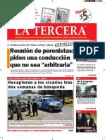Diario La Tercera 12.01.2016